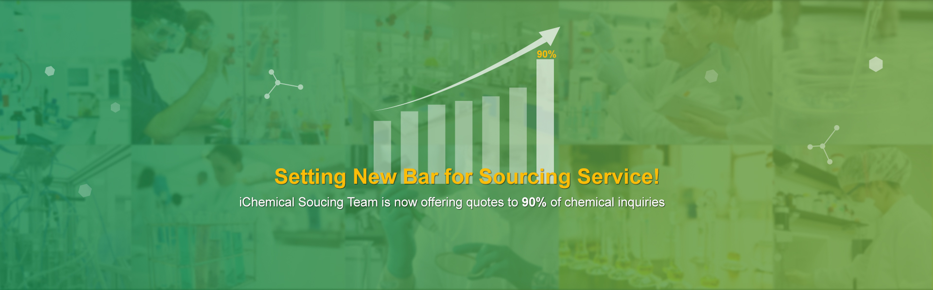 Setting new bar for sourcing service!